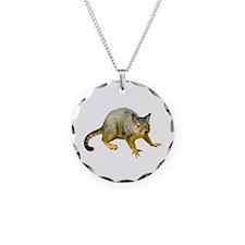 Cat Squirrel Necklace