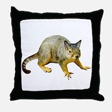 Cat Squirrel Throw Pillow