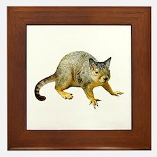 Cat Squirrel Framed Tile