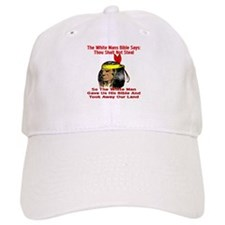White Bible Say Not Steal Baseball Cap