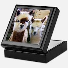 Alpaca Keepsake Box