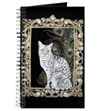 Silver Egyptian Mau Journal