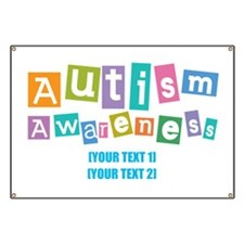 Personalize Autism Awareness Banner