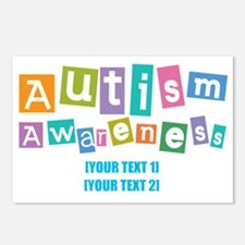 Personalize Autism Awareness Postcards (Package of