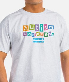 Personalize Autism Awareness T-Shirt