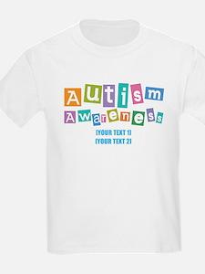 Personalize Autism Awareness T-Shirt