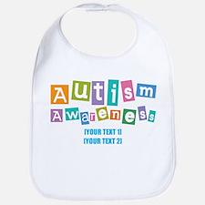 Personalize Autism Awareness Bib