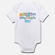 Personalize Autism Awareness Infant Bodysuit