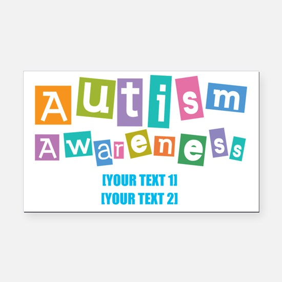 Custom Autism Car Magnets CafePress - Custom awareness car magnet
