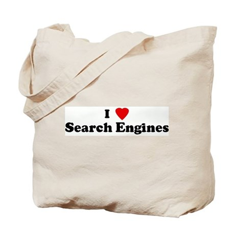 I Love Search Engines Tote Bag
