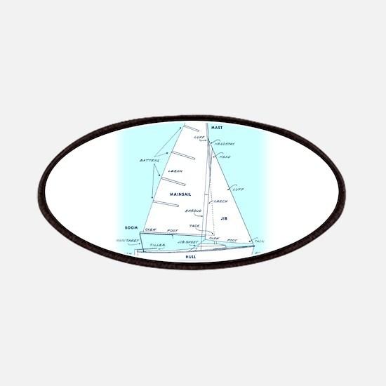 SAILBOAT DIAGRAM (technical design) Patches