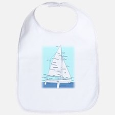 SAILBOAT DIAGRAM (technical design) Bib