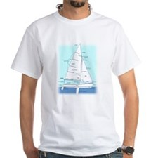SAILBOAT DIAGRAM (technical design) Shirt