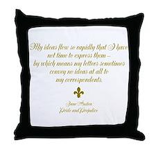 My Ideas Throw Pillow