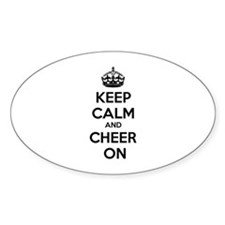 Keep calm and cheer on Decal