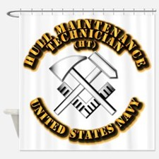 Navy - Rate - HT Shower Curtain
