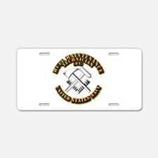 Navy - Rate - HT Aluminum License Plate