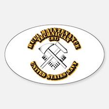 Navy - Rate - HT Sticker (Oval)