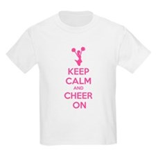 Keep calm and cheer on T-Shirt