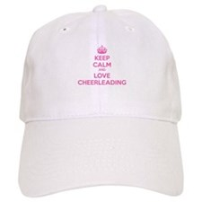 Keep calm and love cheerleading Baseball Cap