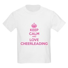 Keep calm and love cheerleading T-Shirt