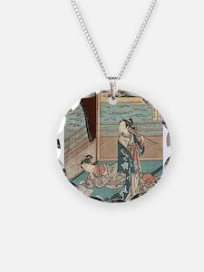 Jakuren Hoshi - Harunobu Suzuki - 1760 Necklace