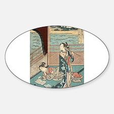 Jakuren Hoshi - Harunobu Suzuki - 1760 Bumper Stickers