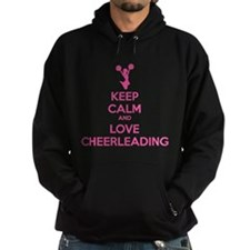 Keep calm and love cheerleading Hoodie