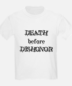 Death before Dishonor Kids T-Shirt