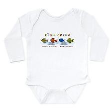 Cute Door Long Sleeve Infant Bodysuit