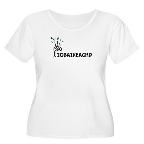 Piobaireachd Design T Women's Plus Size Scoop Neck