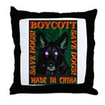 Boycott Made In China Save Do Throw Pillow