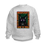 Boycott Made In China Save Do Kids Sweatshirt