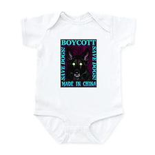Boycott Made In China K9 Kill Infant Creeper