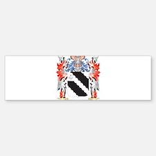 Wagstaffe Coat of Arms - Family Cre Bumper Bumper Bumper Sticker