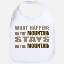 What Happens On The Mountain. Bib