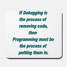 Debugging and Programming Mousepad
