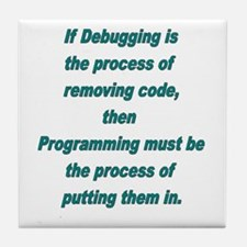 Debugging and Programming Tile Coaster