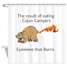 Cajun Campers Shower Curtain