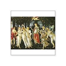 La Primavera (Spring) by Botticelli Square Sticker