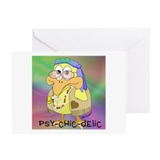 Psy-Chic-Delic Greeting Card