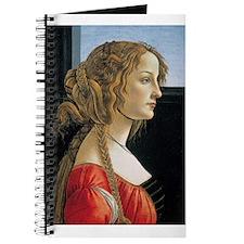 Portrait of Simonetta Vespucci Journal