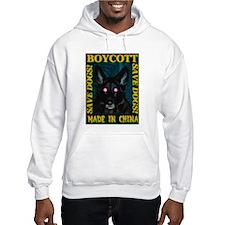 Boycott Made In China K9 Kill Hoodie