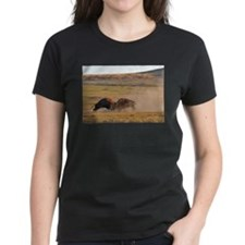 Bulls Clash in Wind Cave National Park Tee