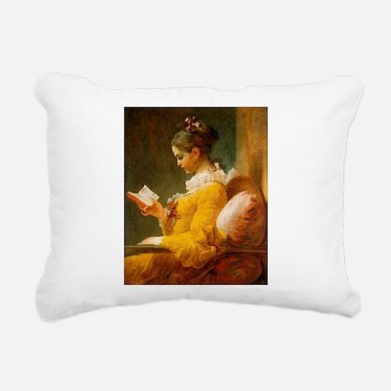 fragonard2.jpg Rectangular Canvas Pillow