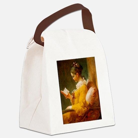 fragonard2.jpg Canvas Lunch Bag