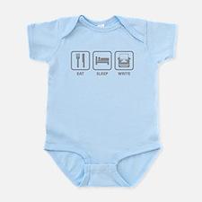 Eat Sleep Write Infant Bodysuit