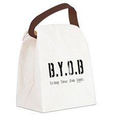 byob.jpg Canvas Lunch Bag