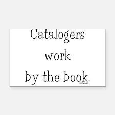 catalogers-book.jpg Rectangle Car Magnet