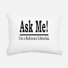 askme.jpg Rectangular Canvas Pillow